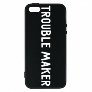 Etui na iPhone 5/5S/SE Trouble maker