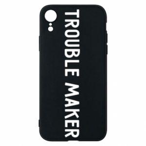 Etui na iPhone XR Trouble maker