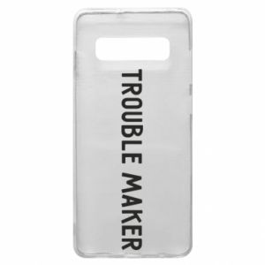Etui na Samsung S10+ Trouble maker