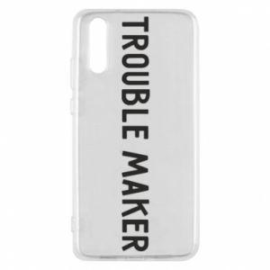 Etui na Huawei P20 Trouble maker