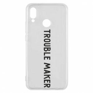 Etui na Huawei P20 Lite Trouble maker