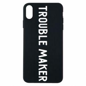 Etui na iPhone Xs Max Trouble maker