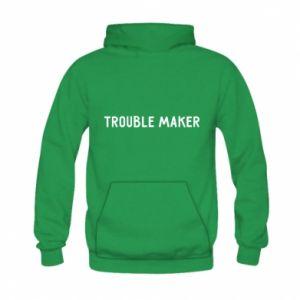 Bluza z kapturem dziecięca Trouble maker