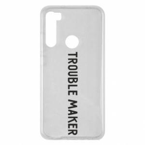 Etui na Xiaomi Redmi Note 8 Trouble maker