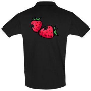 Koszulka Polo Truskawka, jagoda