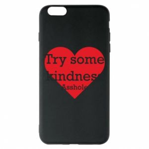Etui na iPhone 6 Plus/6S Plus Try some kindness asshole