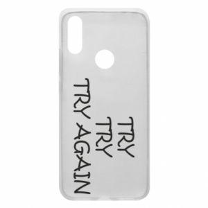 Etui na Xiaomi Redmi 7 Try, try, try again