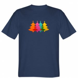 T-shirt Three Christmas trees