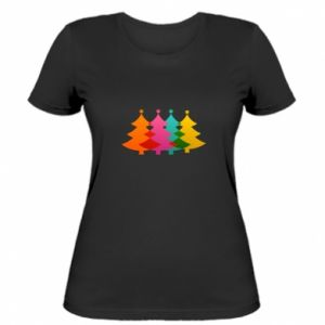 Women's t-shirt Three Christmas trees