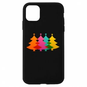 Phone case for iPhone 11 Three Christmas trees