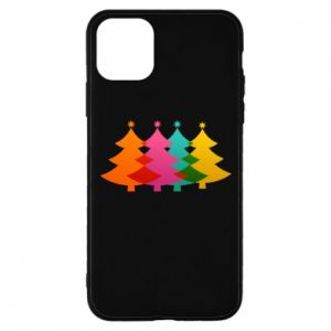 Phone case for iPhone 11 Pro Three Christmas trees