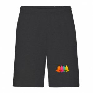 Men's shorts Three Christmas trees