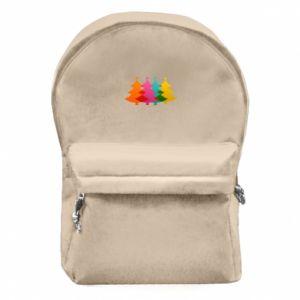Plecak z przednią kieszenią Trzy Choinki