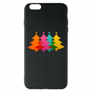 Phone case for iPhone 6 Plus/6S Plus Three Christmas trees
