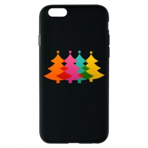 Phone case for iPhone 6/6S Three Christmas trees