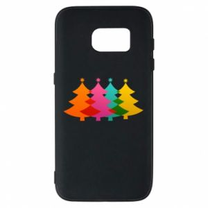 Phone case for Samsung S7 Three Christmas trees