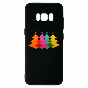 Phone case for Samsung S8 Three Christmas trees