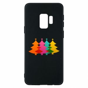 Phone case for Samsung S9 Three Christmas trees