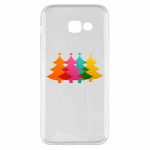 Phone case for Samsung A5 2017 Three Christmas trees