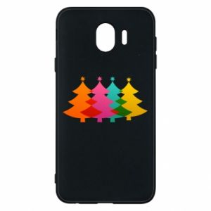 Phone case for Samsung J4 Three Christmas trees