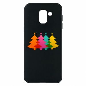 Phone case for Samsung J6 Three Christmas trees
