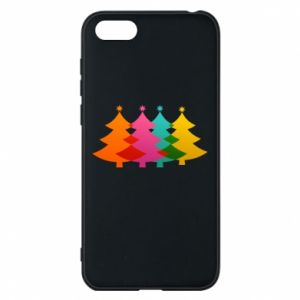 Phone case for Huawei Y5 2018 Three Christmas trees