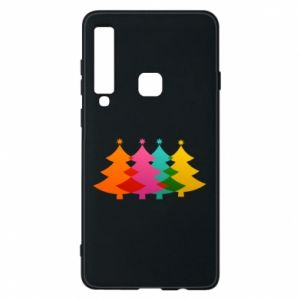 Phone case for Samsung A9 2018 Three Christmas trees