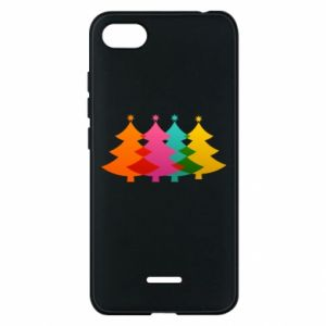 Phone case for Xiaomi Redmi 6A Three Christmas trees