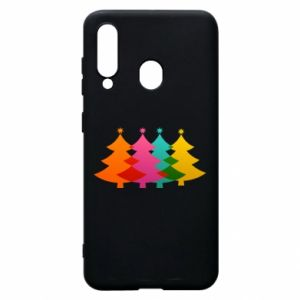 Phone case for Samsung A60 Three Christmas trees