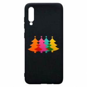 Phone case for Samsung A70 Three Christmas trees