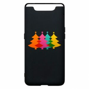 Phone case for Samsung A80 Three Christmas trees