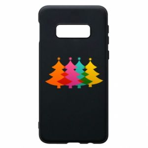 Phone case for Samsung S10e Three Christmas trees