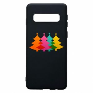 Phone case for Samsung S10 Three Christmas trees