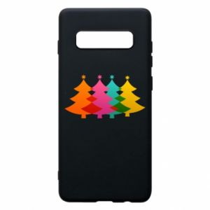 Phone case for Samsung S10+ Three Christmas trees