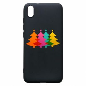 Phone case for Xiaomi Redmi 7A Three Christmas trees