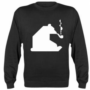 Bluza (raglan) Niedźwiedź z fajką