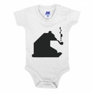 Body dla dzieci Niedźwiedź z fajką