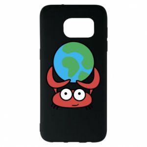 Samsung S7 EDGE Case I hold the world!