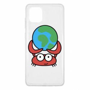 Samsung Note 10 Lite Case I hold the world!