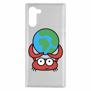 Samsung Note 10 Case I hold the world!