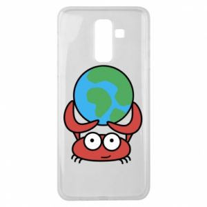 Samsung J8 2018 Case I hold the world!