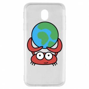 Samsung J7 2017 Case I hold the world!