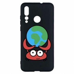 Huawei Nova 4 Case I hold the world!