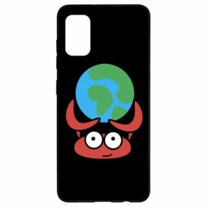 Samsung A41 Case I hold the world!