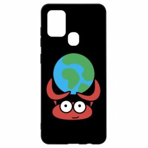 Samsung A21s Case I hold the world!