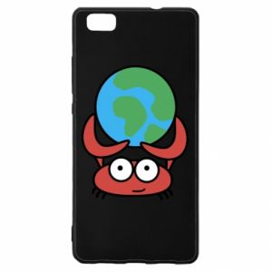 Huawei P8 Lite Case I hold the world!