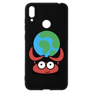 Huawei Y7 2019 Case I hold the world!