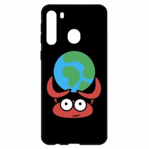 Samsung A21 Case I hold the world!