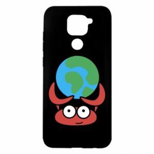 Xiaomi Redmi Note 9 / Redmi 10X case % print% I hold the world!