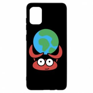 Samsung A31 Case I hold the world!